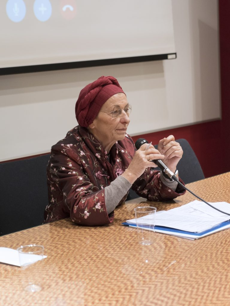 Emma Bonino a Cities for all. Foto: Fabrizio Albertini