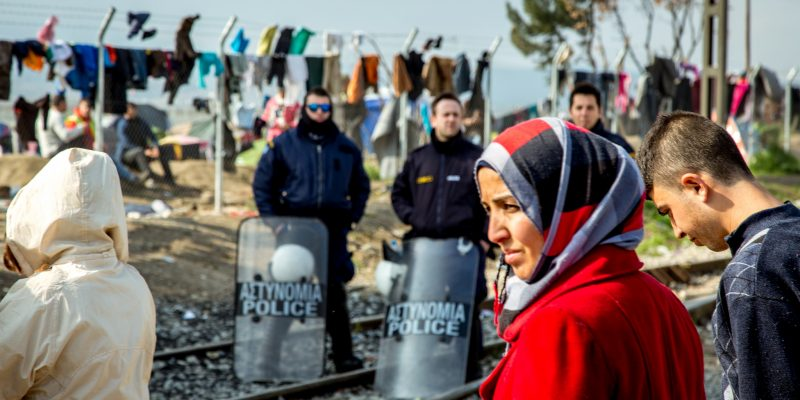 Idomeni Refugee Camp by Julian Buijzen via Flickr Creative Commons