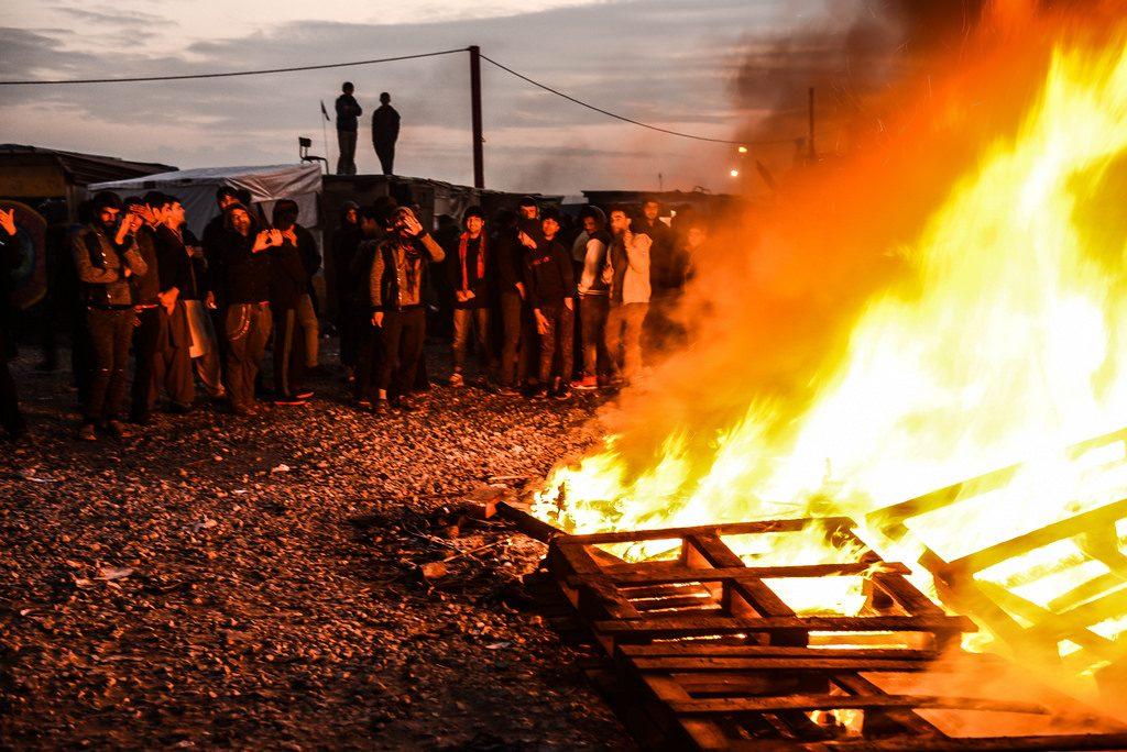 Calais brucia. PH: Sara Prestianni.