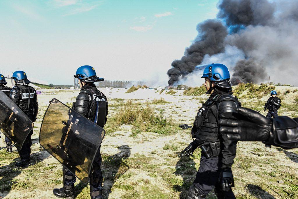 Caccia al migrante a Calais. PH: Sara Prestianni.