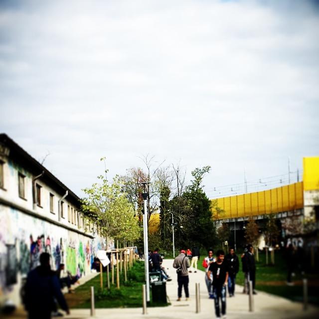 Giardino - Hub Via Sammartini, Milano (Foto: Marina Petrillo)