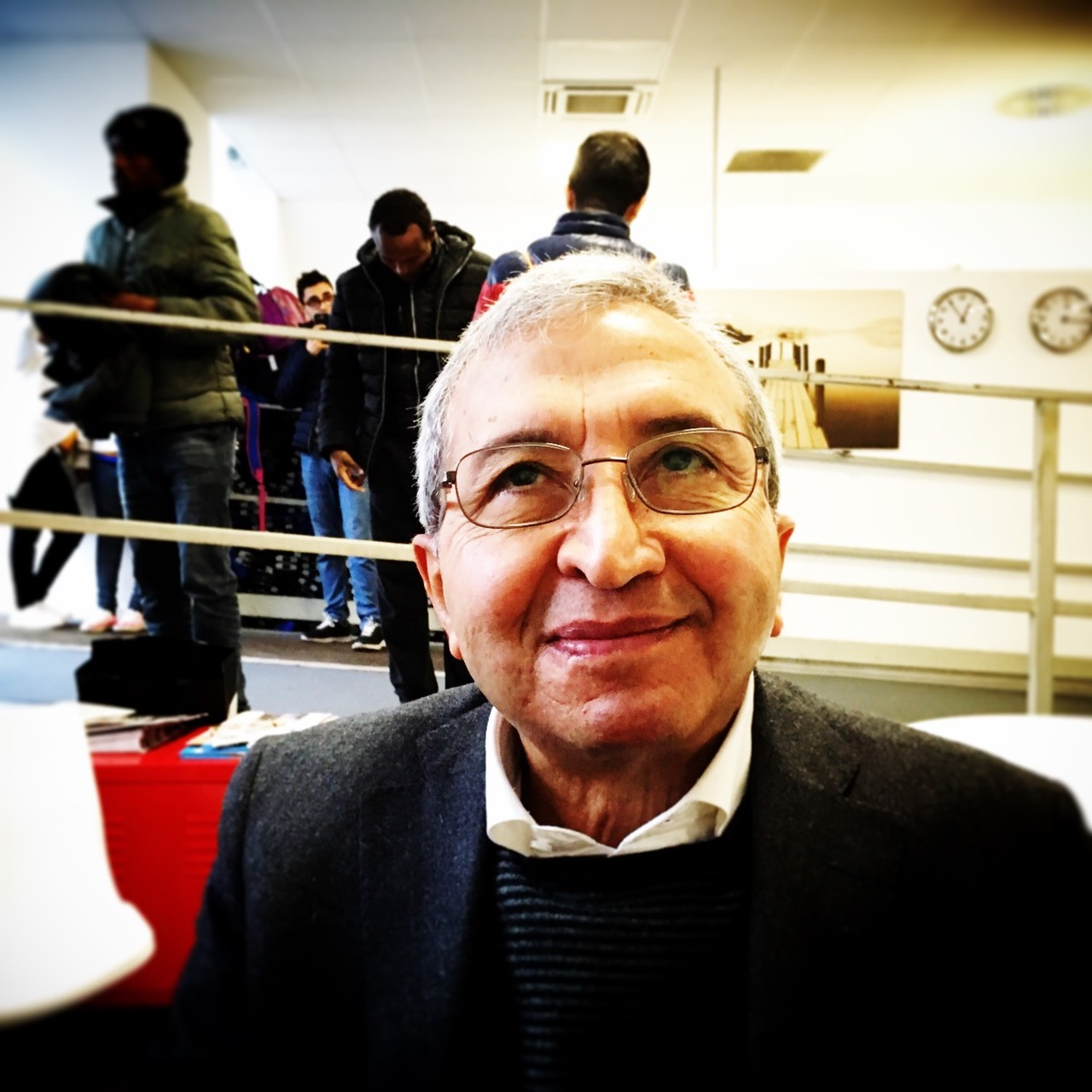 Il dottor Mohamed Boustani. Foto di Marina Petrillo