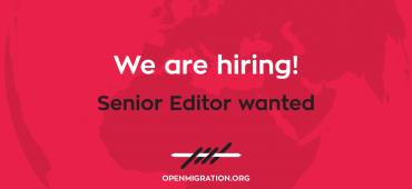 *Vacancy: Senior Editor*