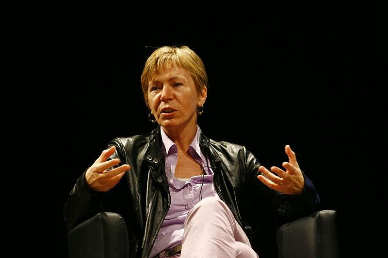 Foto: Milena Gabanelli all'International Journalism Festival di Perugia, Paolo Visone.