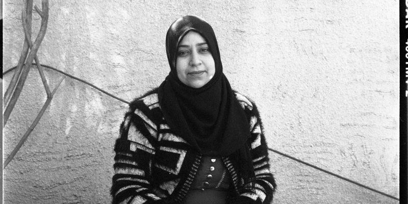 Bizerte 2017. Saliah, sorella di Ben Ibrahim, disperso dal 29 Aprile 2011. Foto di Arianna Pagani.