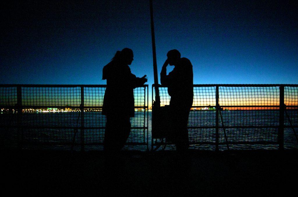 FOTO: lasciando la Libia - via Salvatore Barbera ().