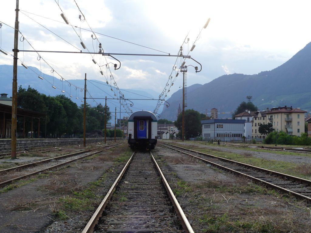 Lo scalo merci di Bolzano (foto: Michele Luppi)
