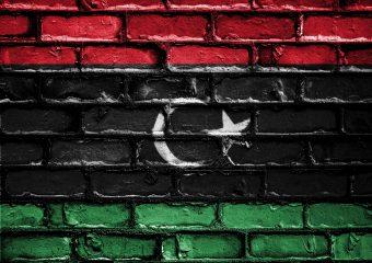 Bandiera libica. Foto via Pixabay (CC BY 2.0)