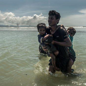 Rohingya - Tommy Trenchard/ Caritas/ CAFOD, September 2017.