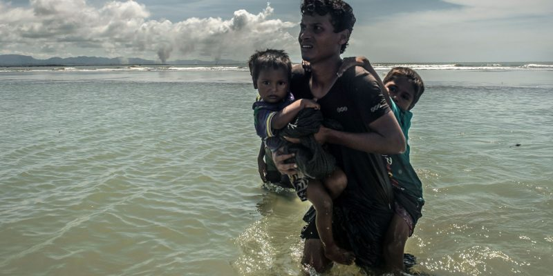 Rohingya - Tommy Trenchard/ Caritas/ CAFOD, September 2017.