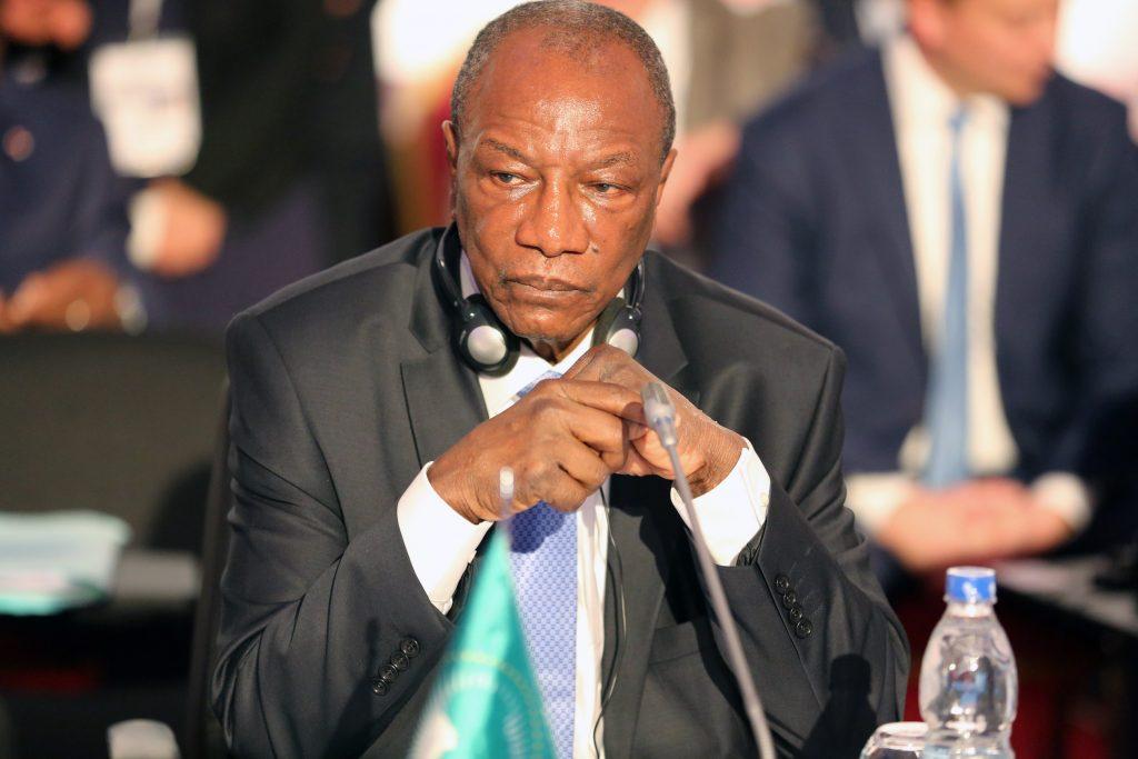 Il presidente dell'Unione Africana Condé al 5° vertice Ua-Ue (foto: sommetUaUe)