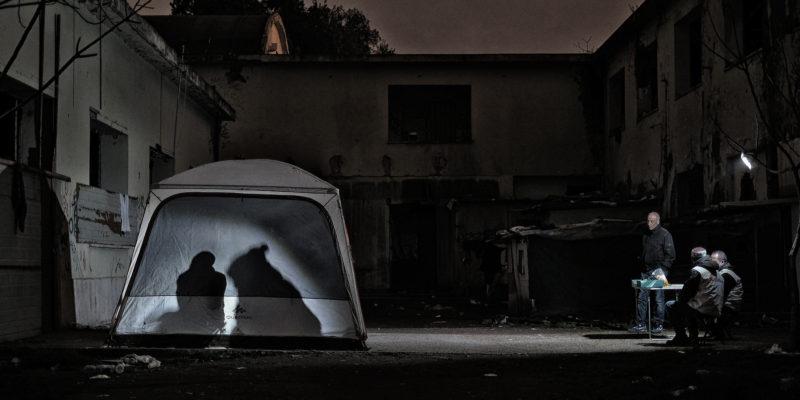 Nell'ex fabbrica di penicillina, un ghetto di Roma