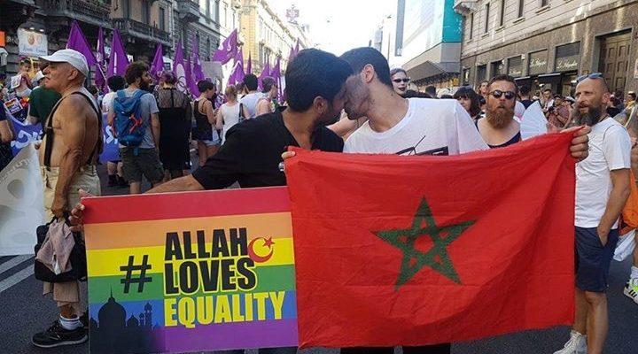 L'attivista Wajahat Abbas Kazmi porta la sua testimonianza di persona musulmana omosessuale al Pride di Milano 2017