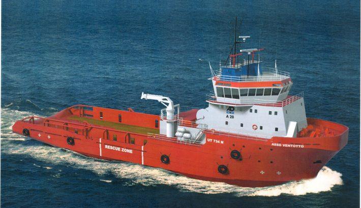 Asso Ventotto in un'immagine della Augusta Offshore.