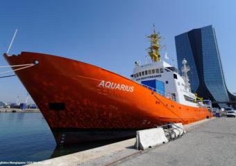 Aquarius docked