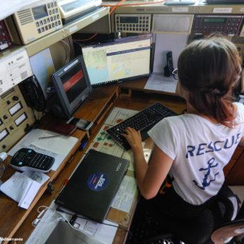 Diario di bordo di Aquarius (foto: SOS Méditerranée)