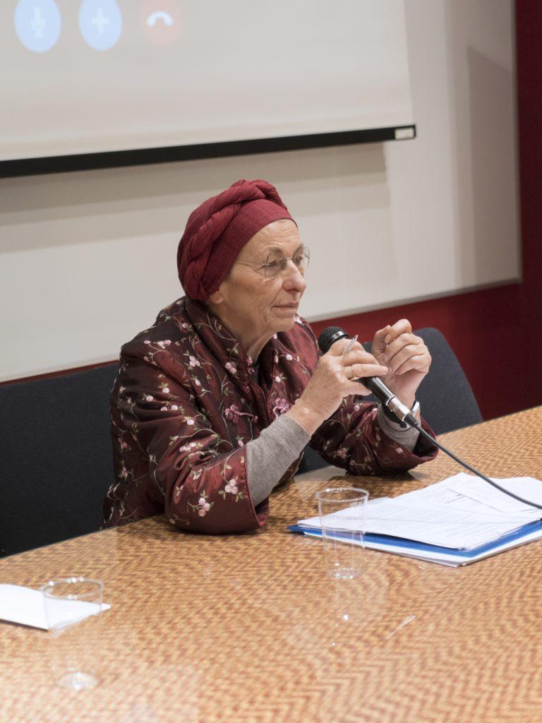 Emma Bonino a Cities for all. Foto: Fabrizio Albertini