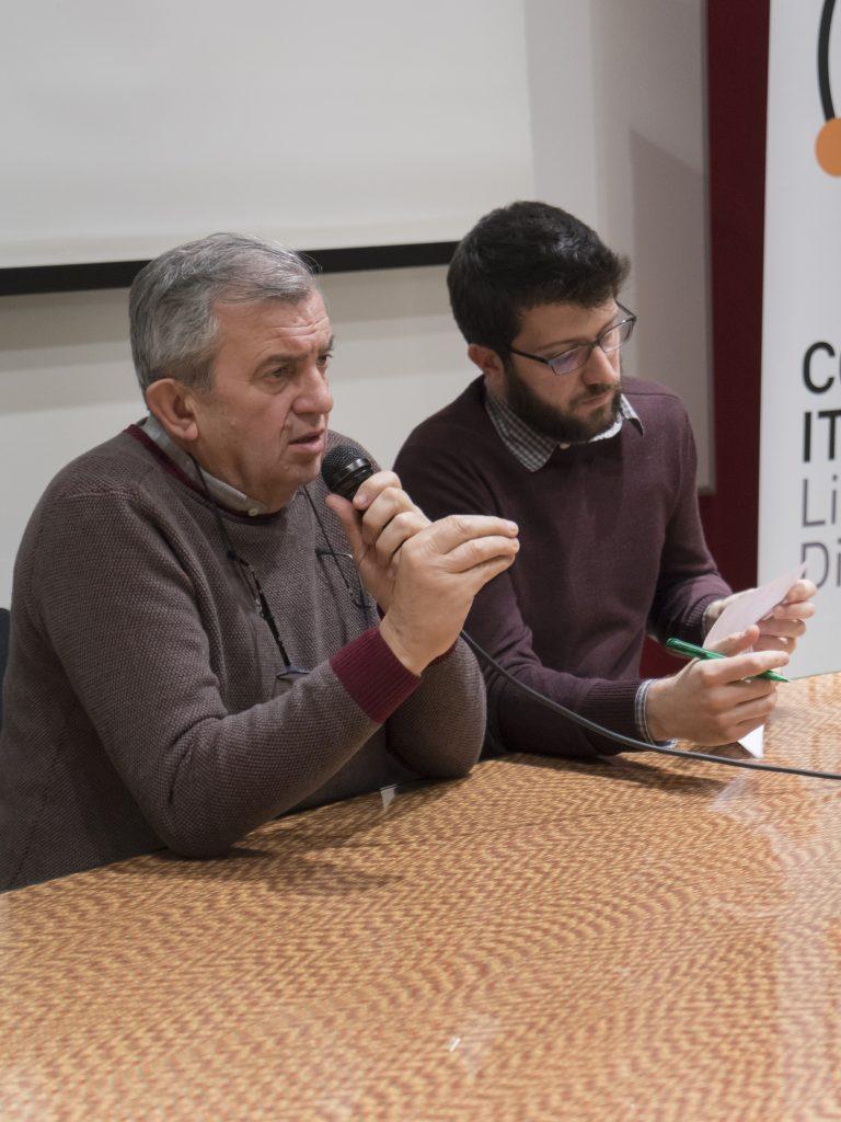 Don Virginio Colmegna e Paolo Riva (Casa della Carità). Foto: Fabrizio Albertini