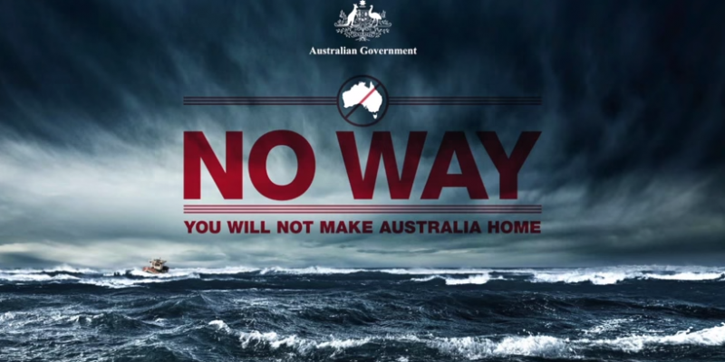 Anti-immigration ad - Australia