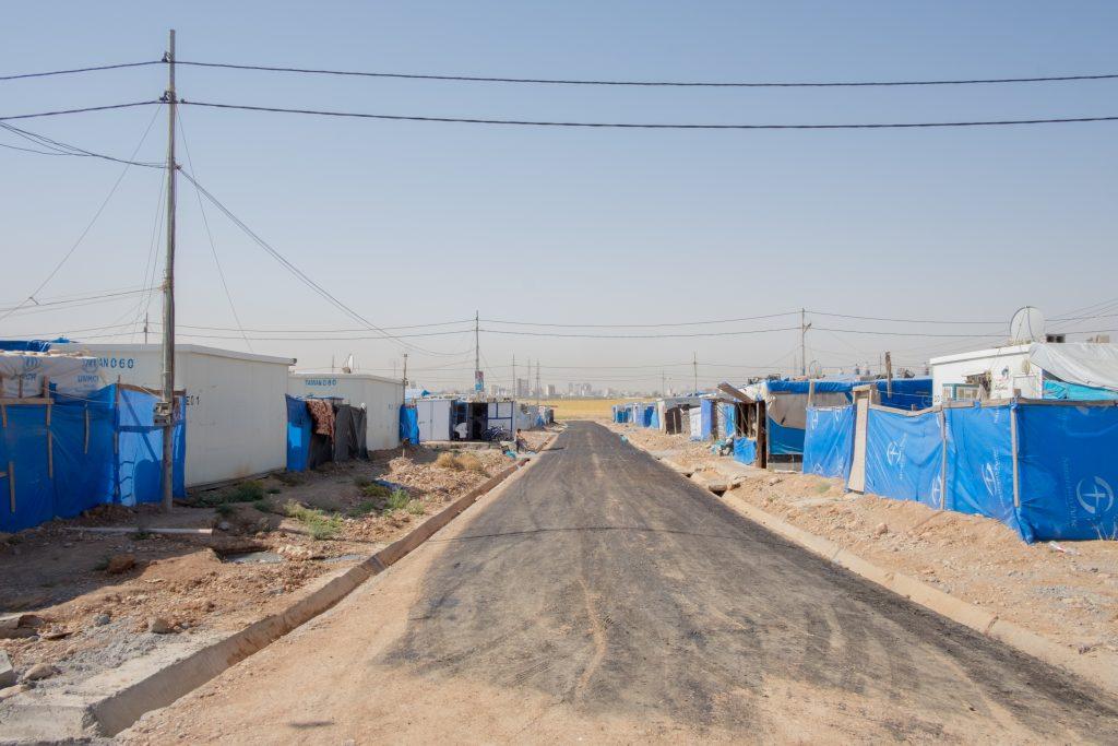 Il campo sfollati di Hasham - FOTO: Arianna Pagani.