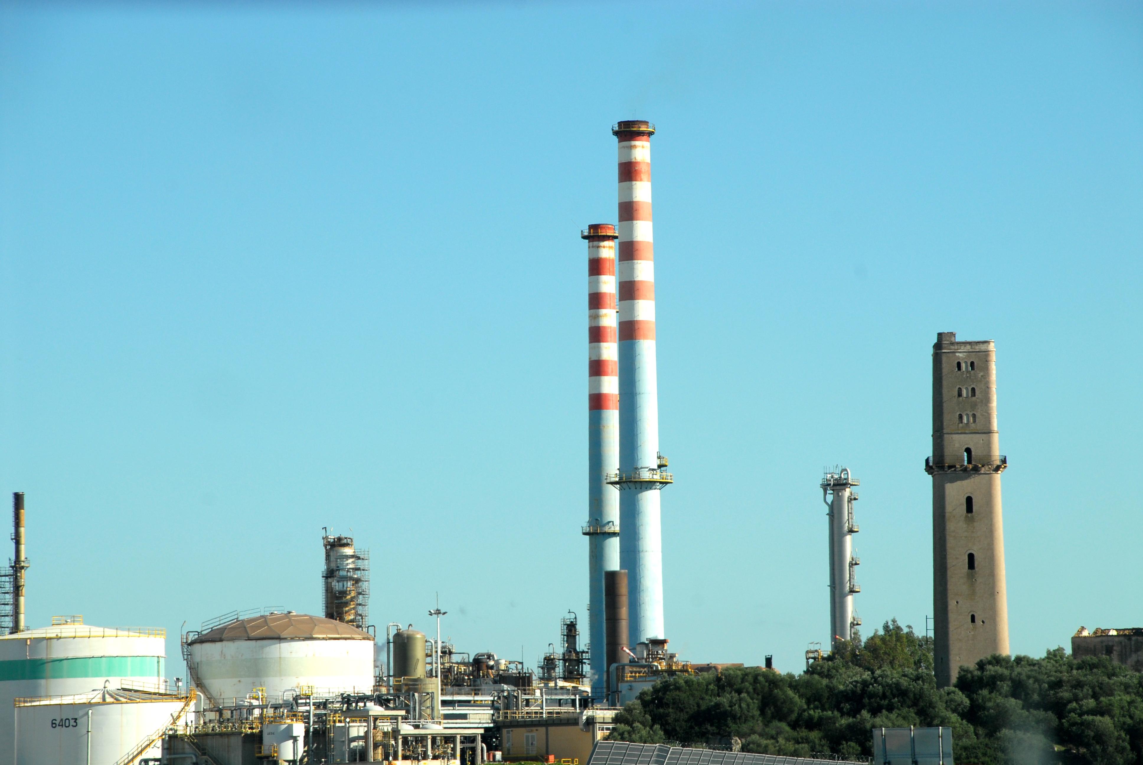 Complesso industriale a Taranto (Foto: Mauro Oricchio)