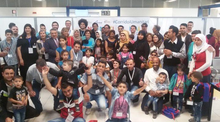 Il progetto dei corridoi umanitari compie un anno (Foto: Mediterranean Hope)