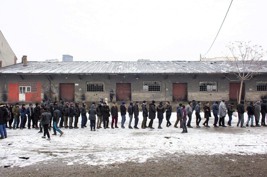 Rifugiati in Serbia (foto: Alberta Aureli per Open Migration).