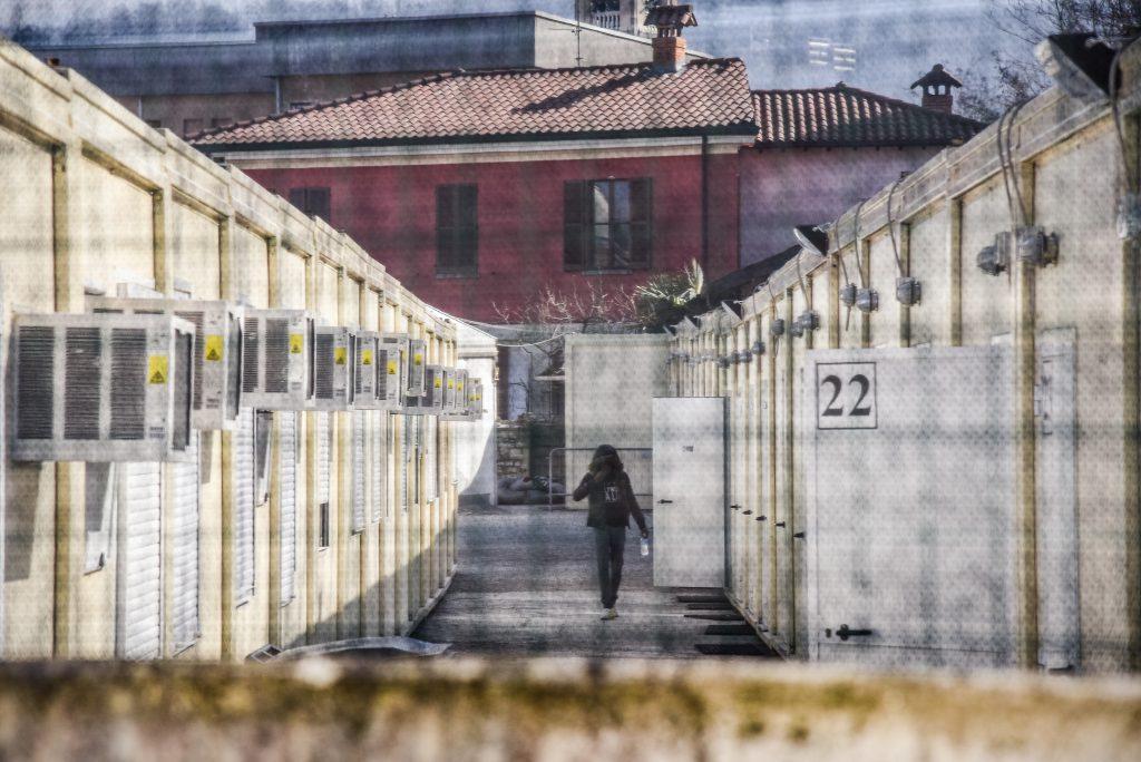 IMAGE: Como, a migrant reception centre run by the Red Cross in San Rocco