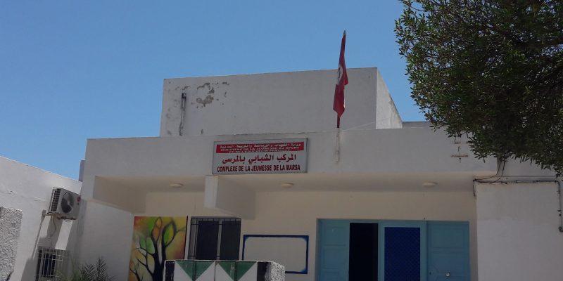 La Marsa, Tunisia, la colonia del Ministero della gioventù tunisina dove sono state trasferite decine di uomini evacuati dal campo profughi di Choucha il 19 giugno 2017 (foto: Laura Cappon)