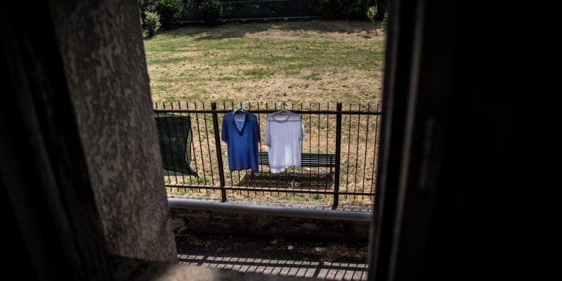 Al centro per migranti vittime di tortura Naga-Har di Milano (foto: Matteo Congregalli)