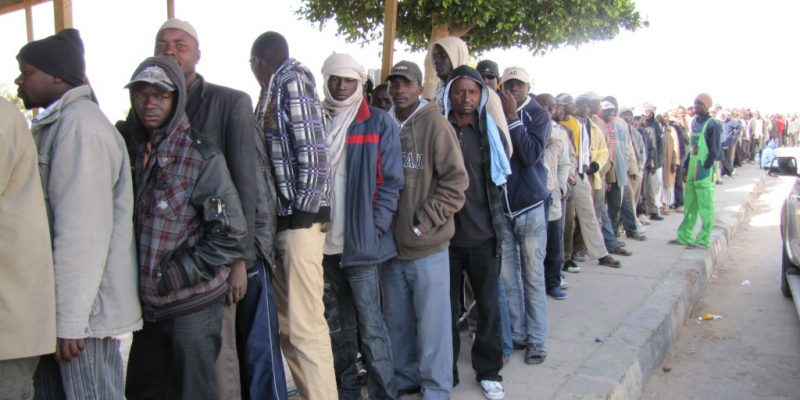 Foto: Migrants in Libya via EU Comm DG Echo