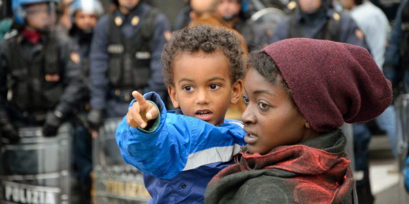 Manifestazione antirazzista - Luca Perino