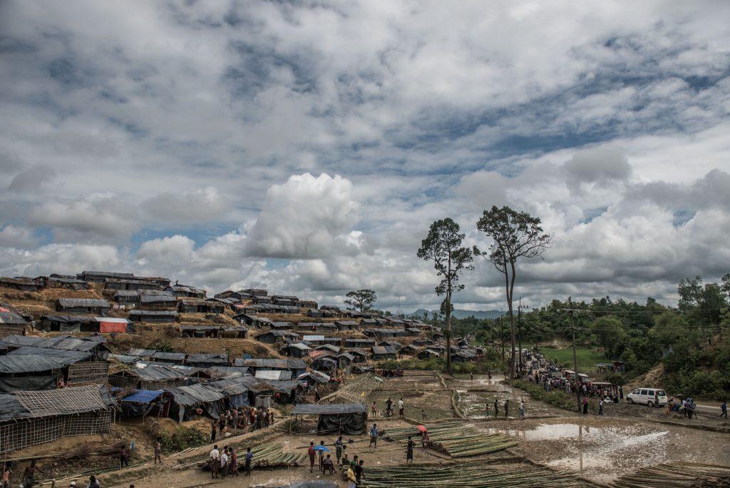 Campo Rohingya in Bangladesh - Tommy Trenchard/ Caritas/ CAFOD