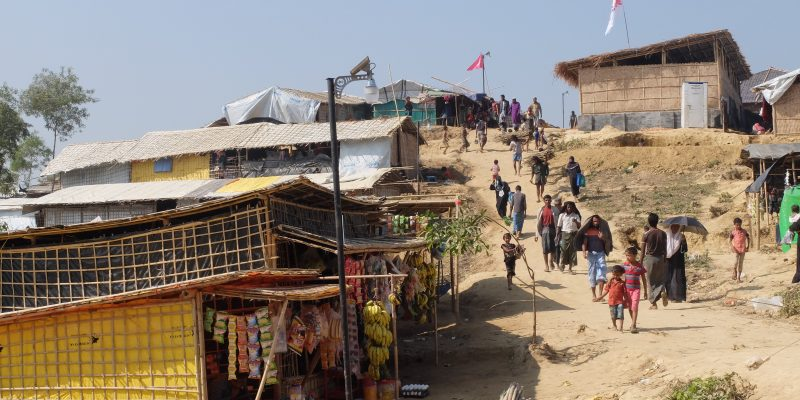 The city of the Rohingya