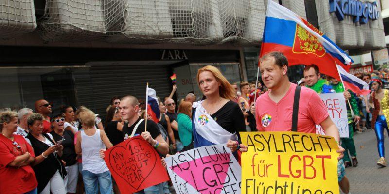Manifestazione per i diritti dei rifugiati LGBTI a Colonia (foto: Culturetastic CC BY-NC 2.0)