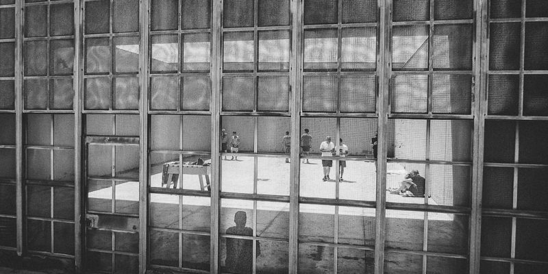 Il carcere di Vasto, fotografia di Inside Carceri su licenza CC BY-NC-SA 2.0)