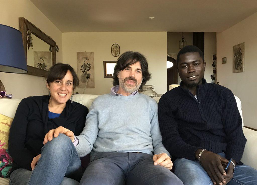 Ludovica, Alessandro e Yusuf (foto: Claudia Torrisi)