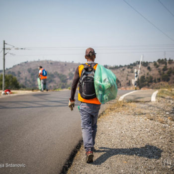 Montenegro. Cuban refugees earn a living as waste collectors