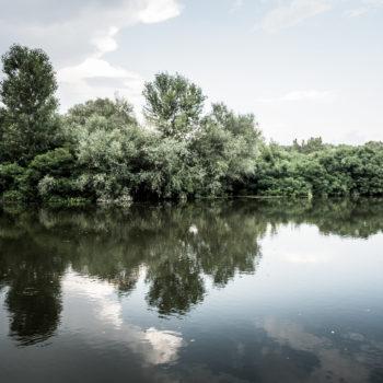 Il fiume Evros (foto: Massimo Lauria)
