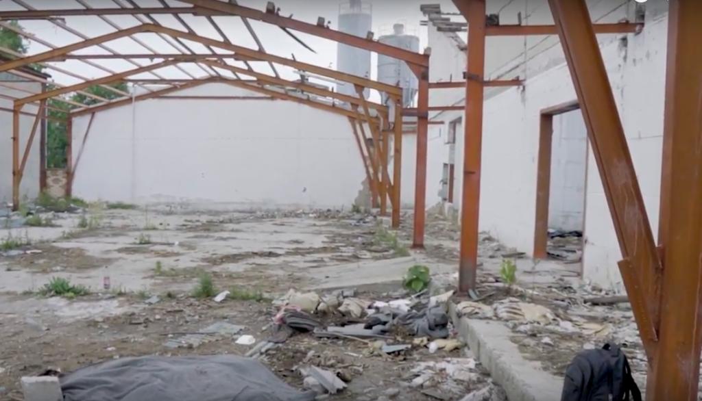 Un fotogramma dal mini documentario di Stories of Change sulla situazione dei rifugiati al confine bosniaco nel 2017 (https://youtu.be/ttGEYbRK844)