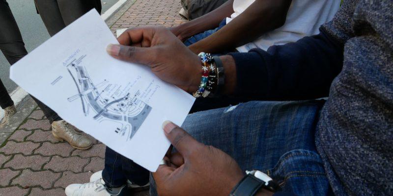 A Ventimiglia dove i respingimenti di migranti sono all'interno dell'Europa