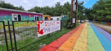 A Lesbo la solidarietà è sotto sgombero