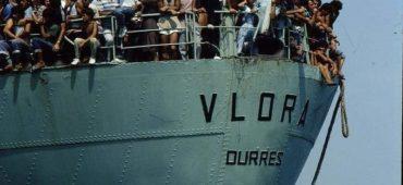 A bordo della Vlora